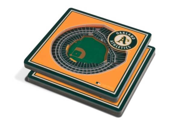 You the Fan Oakland Athletics Stadium View Coaster Set product image