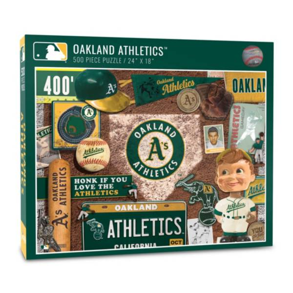 You The Fan Oakland Athletics Retro Series 500-Piece Puzzle product image