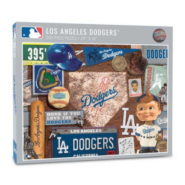 You The Fan Los Angeles Dodgers Retro Series 500-Piece Puzzle product image