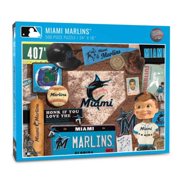You The Fan Miami Marlins Retro Series 500-Piece Puzzle product image