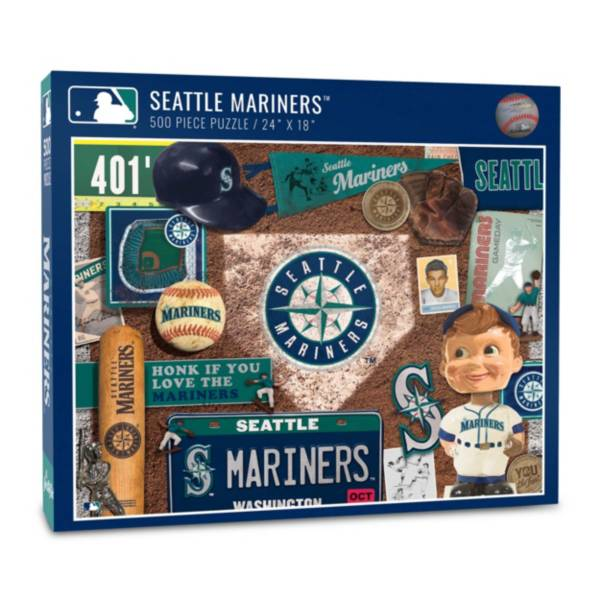 You The Fan Seattle Mariners Retro Series 500-Piece Puzzle product image