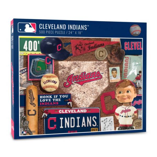 You The Fan Cleveland Indians Retro Series 500-Piece Puzzle product image