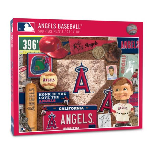 You The Fan Los Angeles Angels Retro Series 500-Piece Puzzle product image