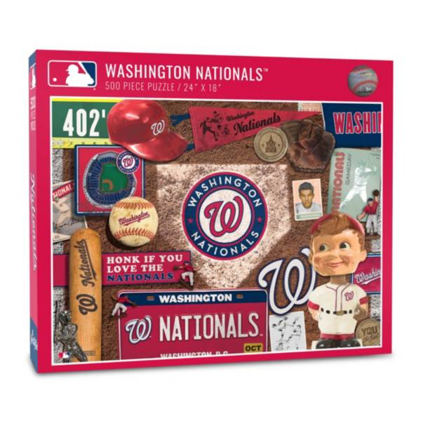 You The Fan Washington Nationals Retro Series 500-Piece Puzzle product image