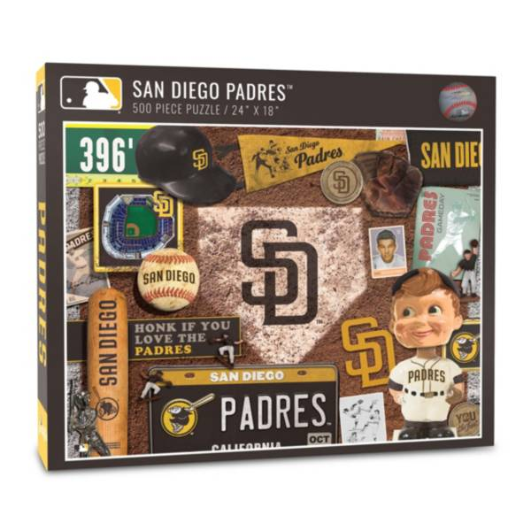 You The Fan San Diego Padres Retro Series 500-Piece Puzzle product image