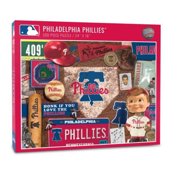 You The Fan Philadelphia Phillies Retro Series 500-Piece Puzzle product image