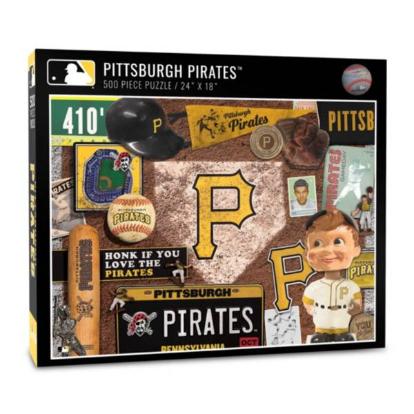 You The Fan Pittsburgh Pirates Retro Series 500-Piece Puzzle product image