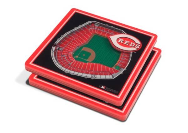 You the Fan Cincinnati Reds Stadium View Coaster Set product image