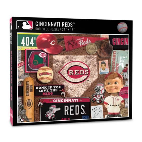 You The Fan Cincinnati Reds Retro Series 500-Piece Puzzle product image
