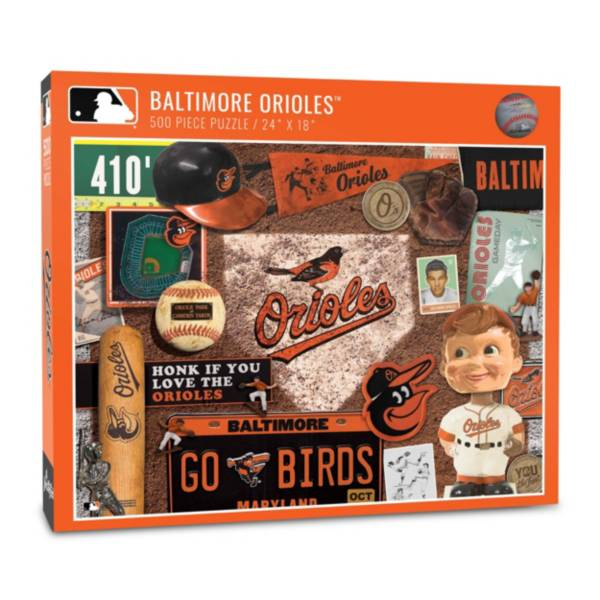 You The Fan Baltimore Orioles Retro Series 500-Piece Puzzle product image