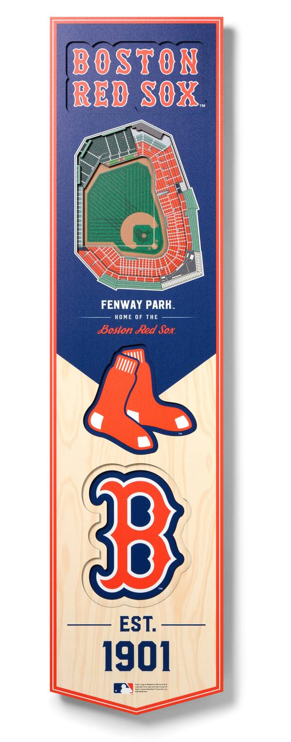 You The Fan Boston Red Sox 8''x32'' 3-D Banner product image