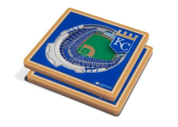 You the Fan Kansas City Royals Stadium View Coaster Set product image
