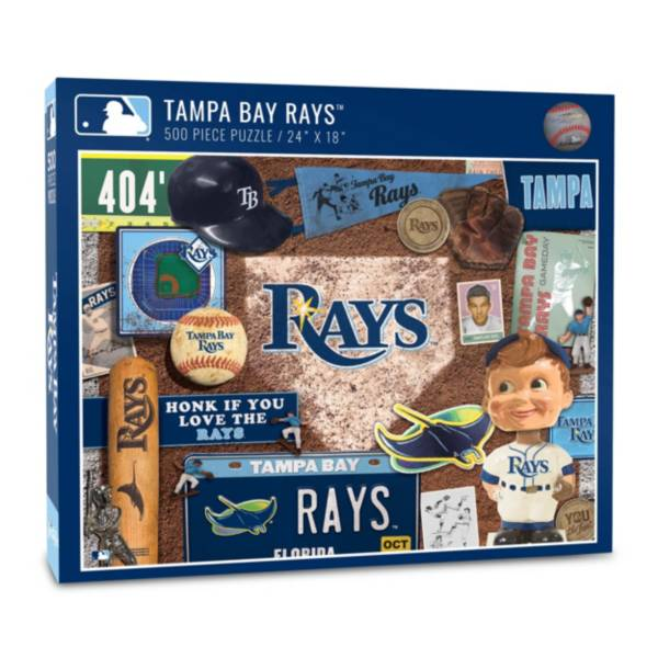 You The Fan Tampa Bay Rays Retro Series 500-Piece Puzzle product image