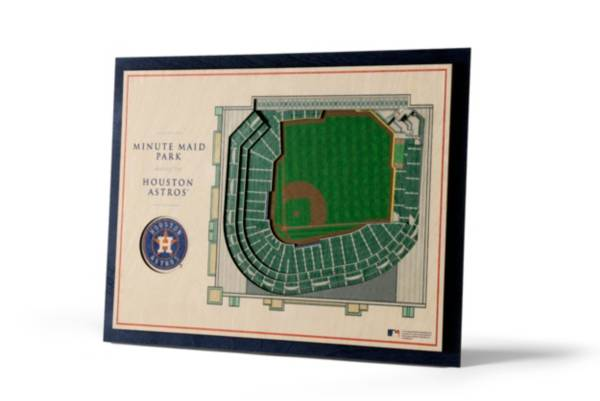 You the Fan Houston Astros 5-Layer StadiumViews 3D Wall Art product image