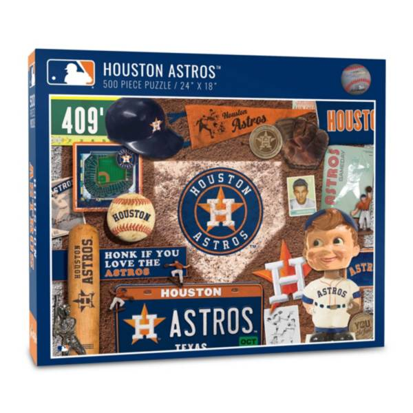 You The Fan Houston Astros Retro Series 500-Piece Puzzle product image
