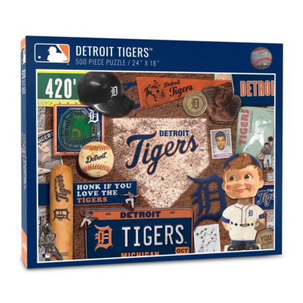 You The Fan Detroit Tigers Retro Series 500-Piece Puzzle product image