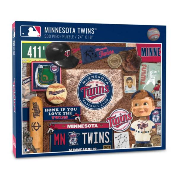 You The Fan Minnesota Twins Retro Series 500-Piece Puzzle product image