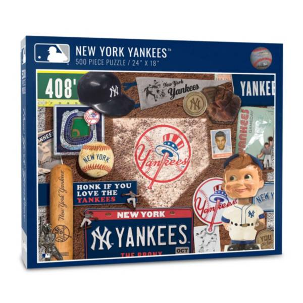 You The Fan New York Yankees Retro Series 500-Piece Puzzle product image