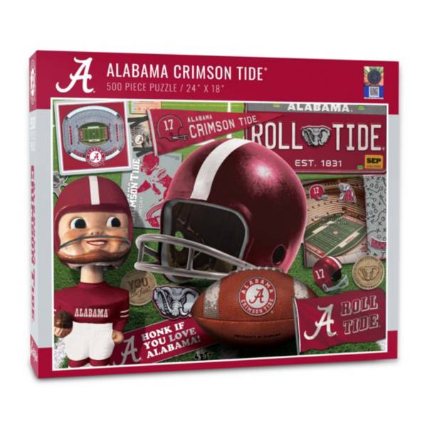 You The Fan Alabama Crimson Tide Retro Series 500-Piece Puzzle product image