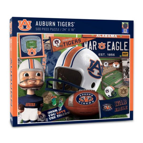 You The Fan Auburn Tigers Retro Series 500-Piece Puzzle product image
