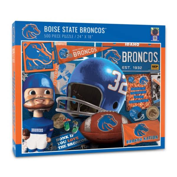 You The Fan Boise State Broncos Retro Series 500-Piece Puzzle product image