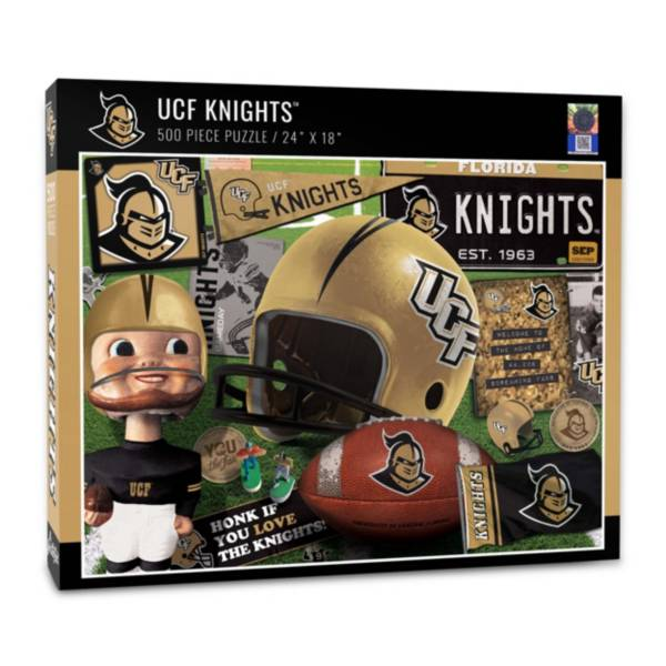 You The Fan UCF Knights Retro Series 500-Piece Puzzle product image