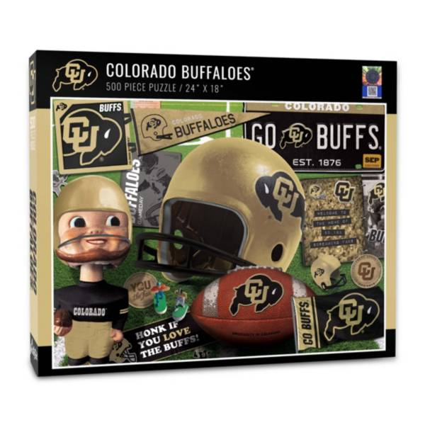 You The Fan Colorado Buffaloes Retro Series 500-Piece Puzzle product image