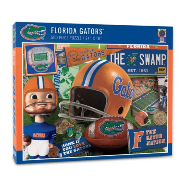You The Fan Florida Gators Retro Series 500-Piece Puzzle product image