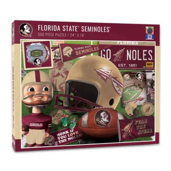 You The Fan Florida State Seminoles Retro Series 500-Piece Puzzle product image