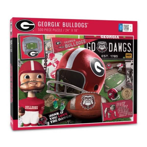 You The Fan Georgia Bulldogs Retro Series 500-Piece Puzzle product image