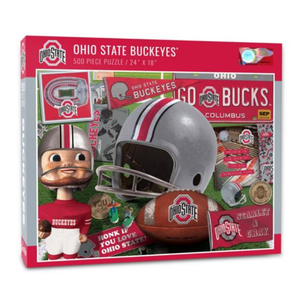 You The Fan Ohio State Buckeyes Retro Series 500-Piece Puzzle product image