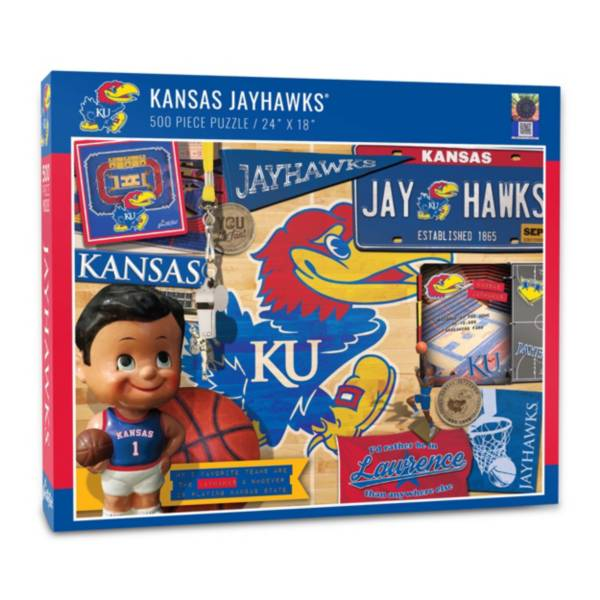 You The Fan Kansas Jayhawks Retro Series 500-Piece Puzzle product image