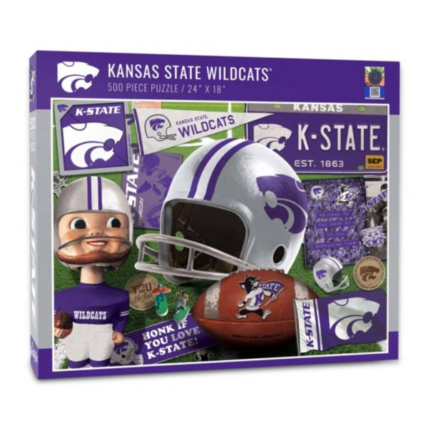 You The Fan Kansas State Wildcats Retro Series 500-Piece Puzzle product image
