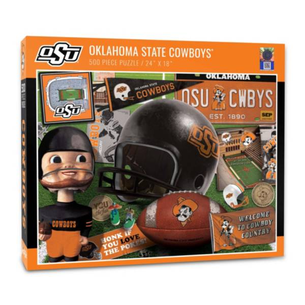 You The Fan Oklahoma State Cowboys Retro Series 500-Piece Puzzle product image