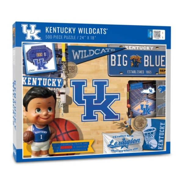 You The Fan Kentucky Wildcats Retro Series 500-Piece Puzzle product image