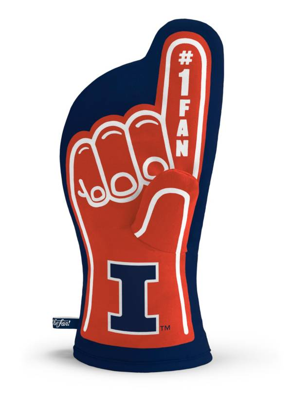 You The Fan Illinois Fighting Illini #1 Oven Mitt product image