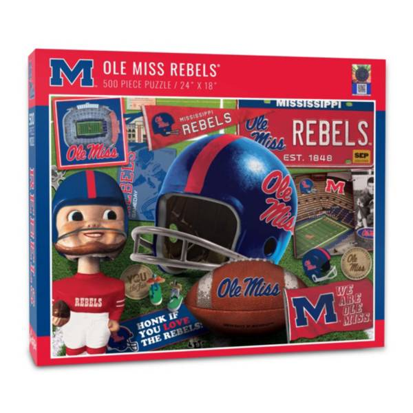 You The Fan Ole Miss Rebels Retro Series 500-Piece Puzzle product image