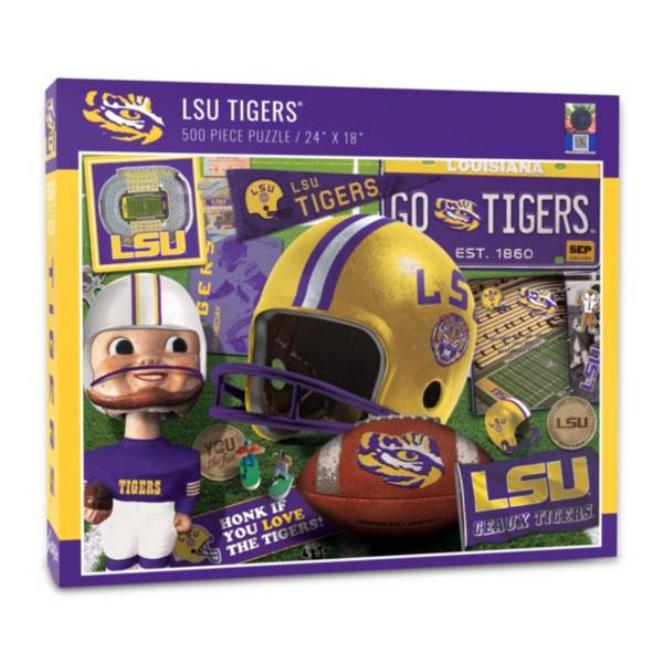 You The Fan LSU Tigers Retro Series 500-Piece Puzzle product image