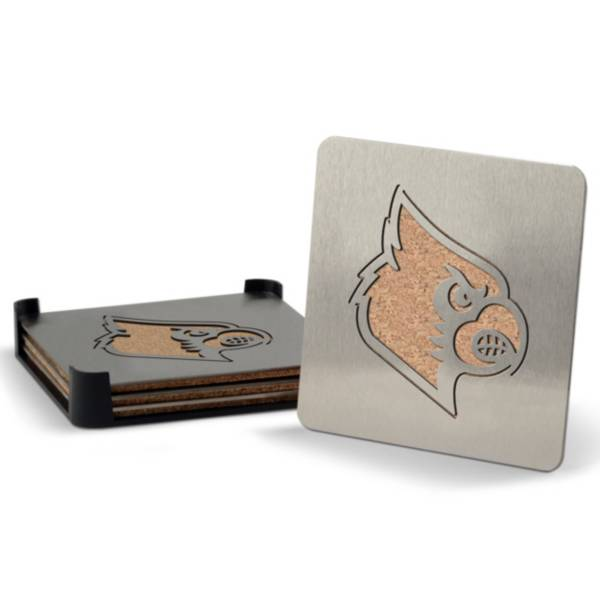 You the Fan Louisville Cardinals Coaster Set product image