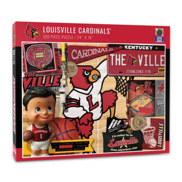 You The Fan Louisville Cardinals Retro Series 500-Piece Puzzle product image