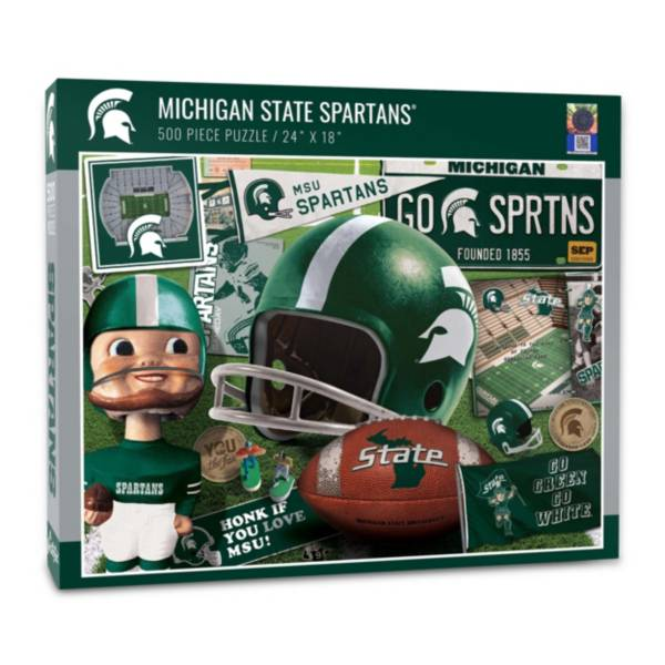 You The Fan Michigan State Spartans Retro Series 500-Piece Puzzle product image