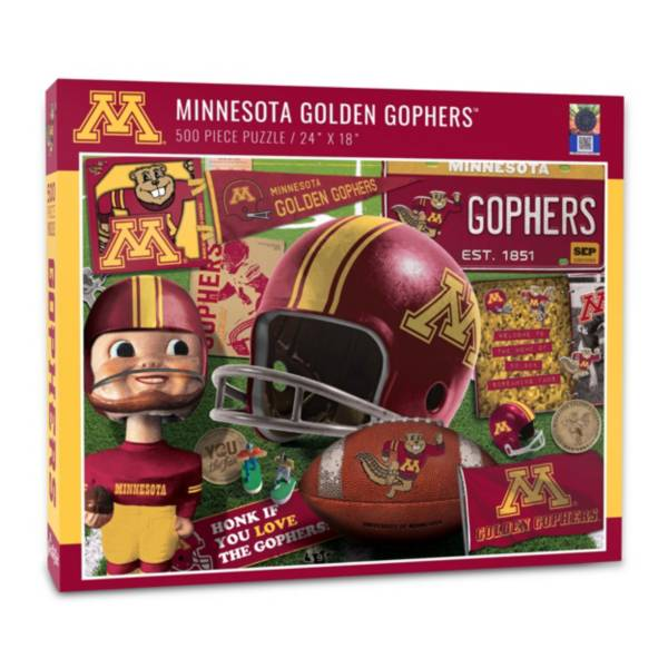 You The Fan Minnesota Golden Gophers Retro Series 500-Piece Puzzle product image