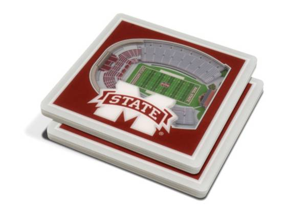 You the Fan Mississippi State Bulldogs Stadium View Coaster Set product image