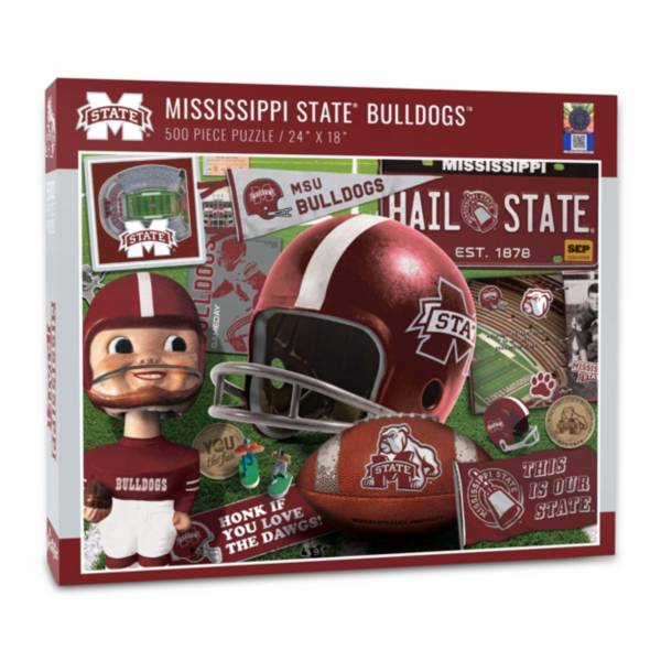 You The Fan Mississippi State Bulldogs Retro Series 500-Piece Puzzle product image