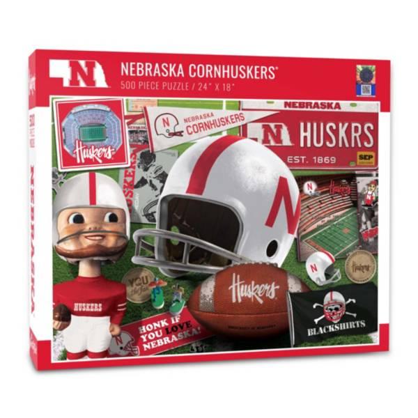 You The Fan Nebraska Cornhuskers Retro Series 500-Piece Puzzle product image