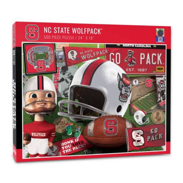 You The Fan NC State Wolfpack Retro Series 500-Piece Puzzle product image
