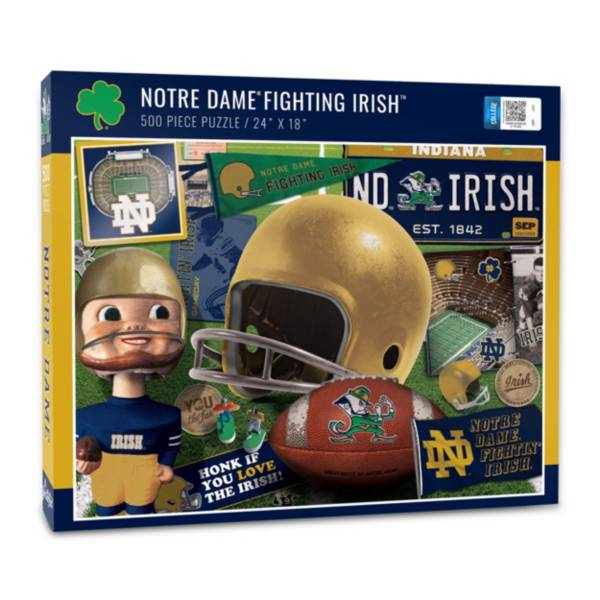 You The Fan Notre Dame Fighting Irish Retro Series 500-Piece Puzzle product image