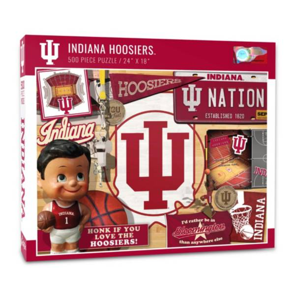 You The Fan Indiana Hoosiers Retro Series 500-Piece Puzzle product image