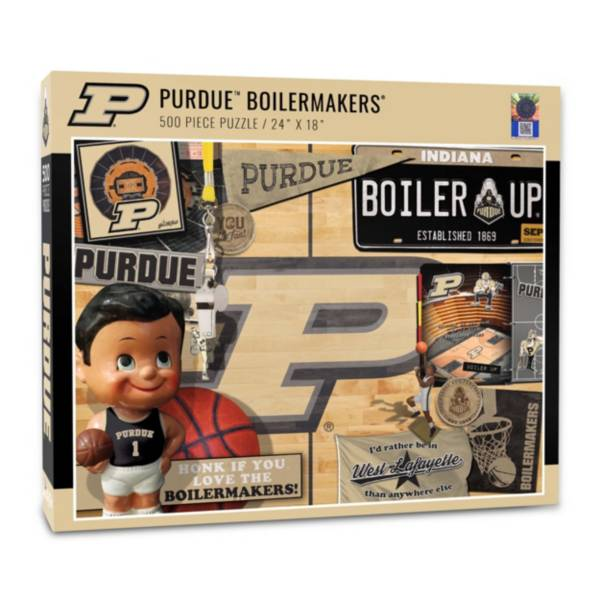 You The Fan Purdue Boilermakers Retro Series 500-Piece Puzzle product image