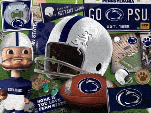 You The Fan Penn State Nittany Lions Wooden Puzzle product image